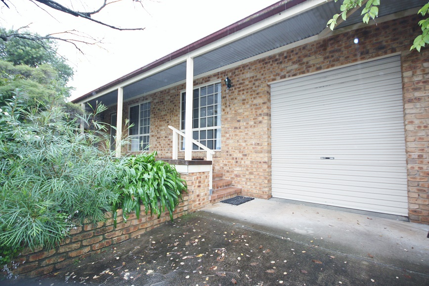 Front and garage
